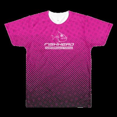 Fishhead Rush – men's crewneck t-shirt
